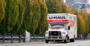 New Jersey U Haul Truck